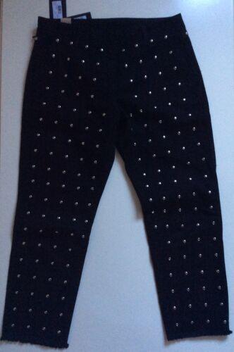 42 Pantaloni Usa Pinocchietto Ita Tg Borchie Con Twinset 28 Donna q7qYw6