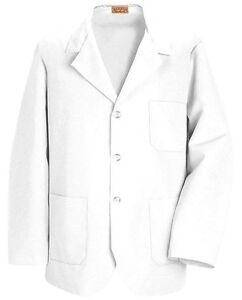 Red Kap KP30 – White, Lapel Counter/Lab/Shop Coat 2XL
