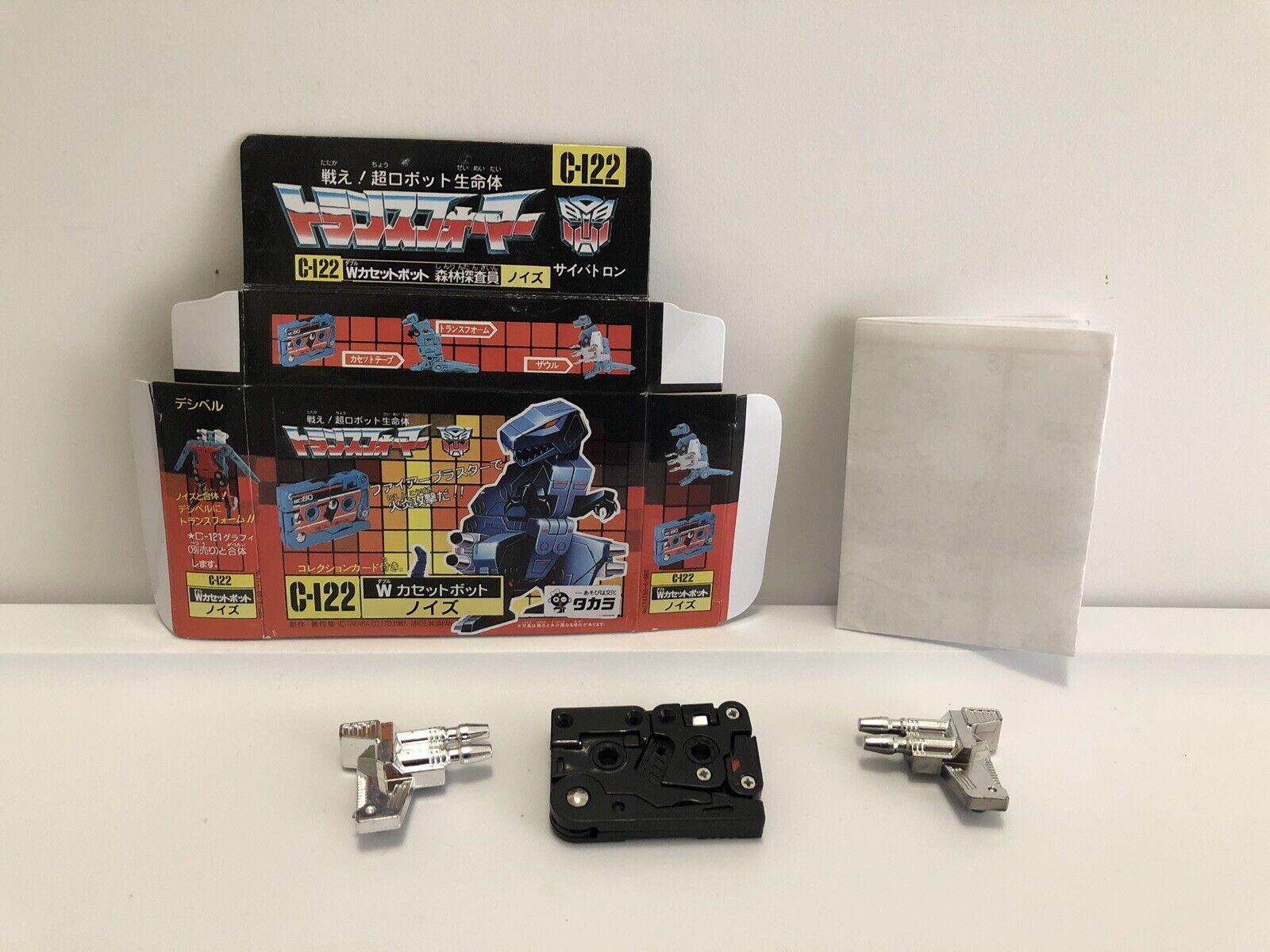 marcas en línea venta barata Transformers G1 Noizu C-122 Negro REPRO REPRO REPRO Set  nuevo listado
