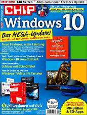 CHIP Windows 10, Das Mega Update! inkl. DVD, 5 Vollversionen, wie Neu