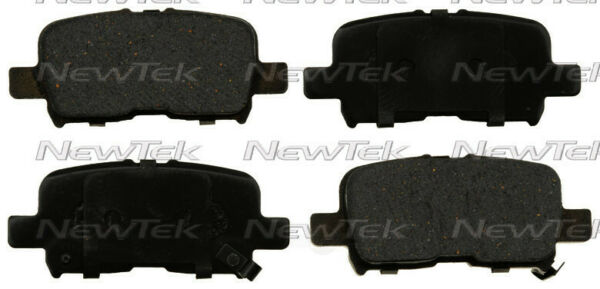 Disc Brake Pad Set-Galaxy Ceramic Disc Pads Rear NewTek SCD1267