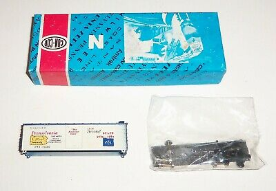 Toys & Hobbies Con-cor 1776-b Pennsylvania State 40' Box Car Pax 138702 N Scale Kit Cheapest Price From Our Site Freight Cars