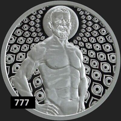 2019 1oz Cosmic King BU Silver Shield MiniMintage Conscientia Series #11