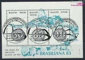 Brasilien Block55 (kompl.Ausg.) gestempelt 1983 Briefmarkenausstellung (9233660