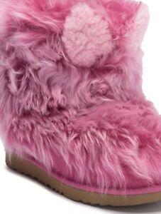 Pinki Puff Genuine Twinface Sheepskin