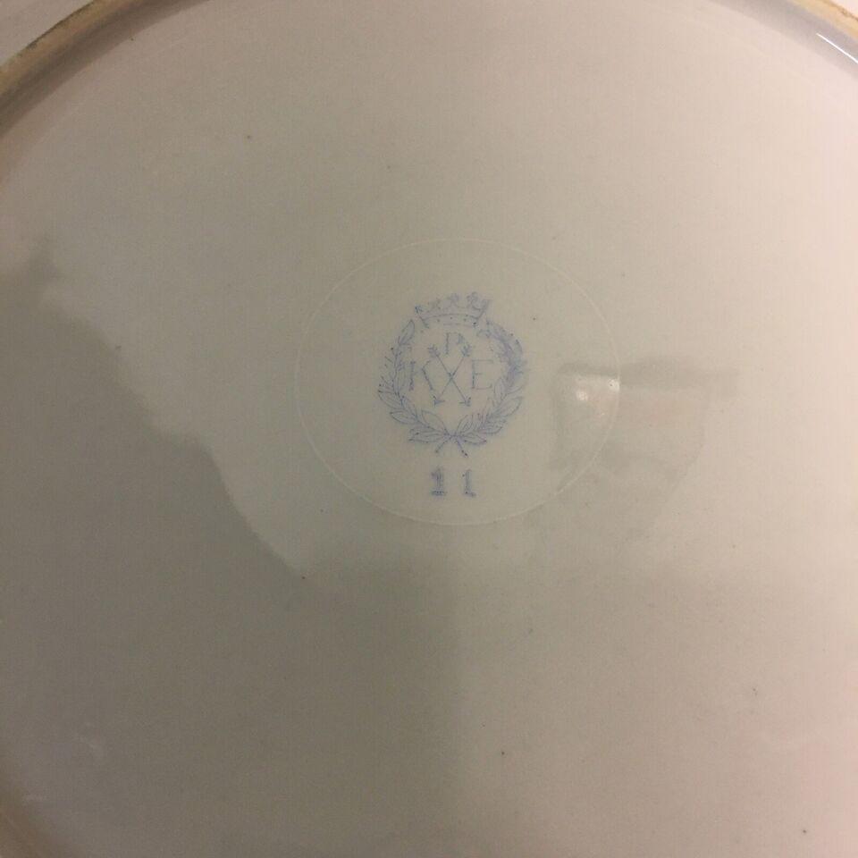 Porcelæn, Blomsterfad, KALK Østtyskland