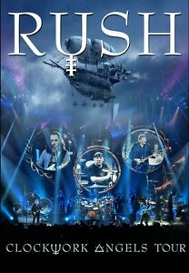 Clockwork Angels Tour - Rush 2 DVD Set Sealed New ! | eBay