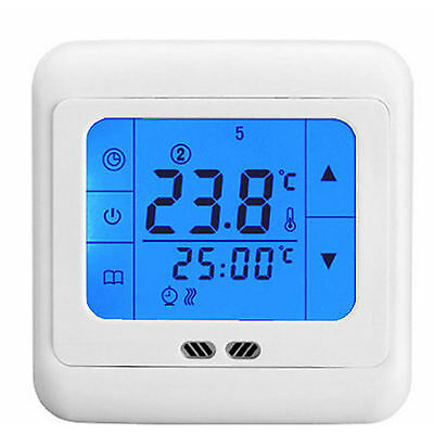 BYC07H Touch Screen Floor Heating Electric Thermostat Room Temperature Controler