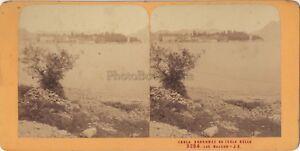 Lac-Maggiore-Italia-Foto-Stereo-Jean-Andrieu-Parigi-Albumina-Ca-1865