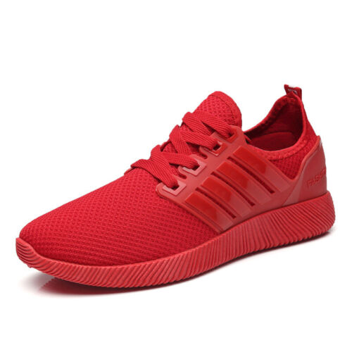 Men Breathable Mesh Sneakers Running Trainers Casual Comfortable Athletic Shoes