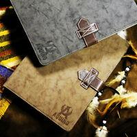 Für Galaxy Tab E Tablet Leder Synthetisch Tasche Etui Case Kartenfach Vintage