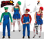 ZOMBIE WORKMAN WORK WOMAN HALLOWEEN Scary Fancy Dress Costume Couple Outfit Lot