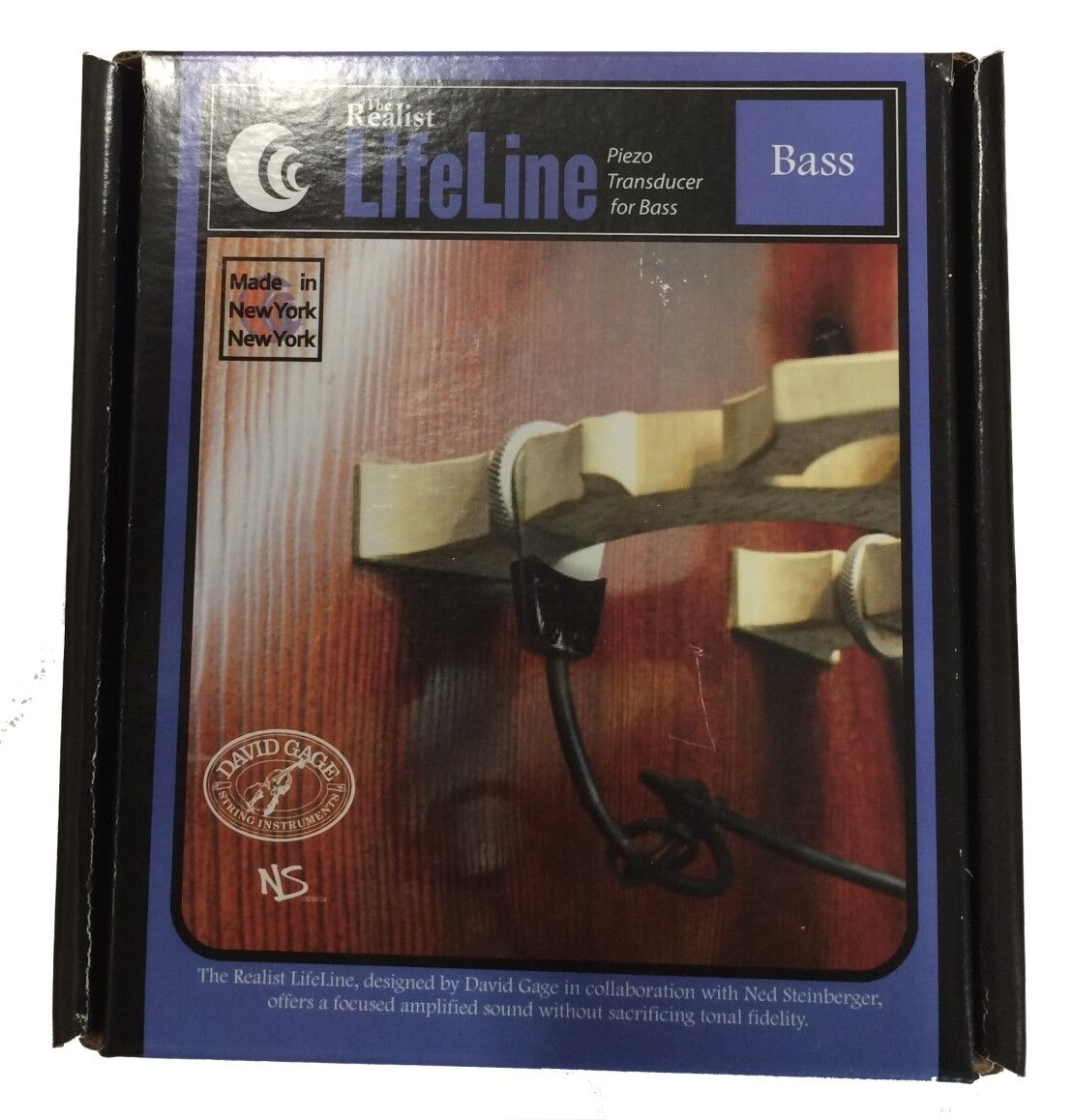 David Gage the the the Realist-lifeline-contrabajo pickup  punto de venta