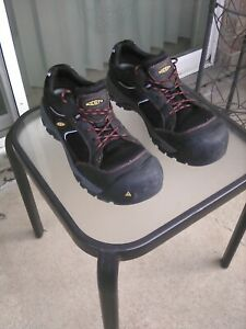 KEEN-Steel-Toe-Work-Shoes-Size-11-5-Model-ASTM-F2413-11-M-I-75-C-75-EH