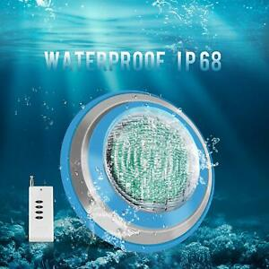Details about Waterproof 47W IP68 RGB LED Swimming Pool Underwater Lights  Remote CE RoHs Lamp