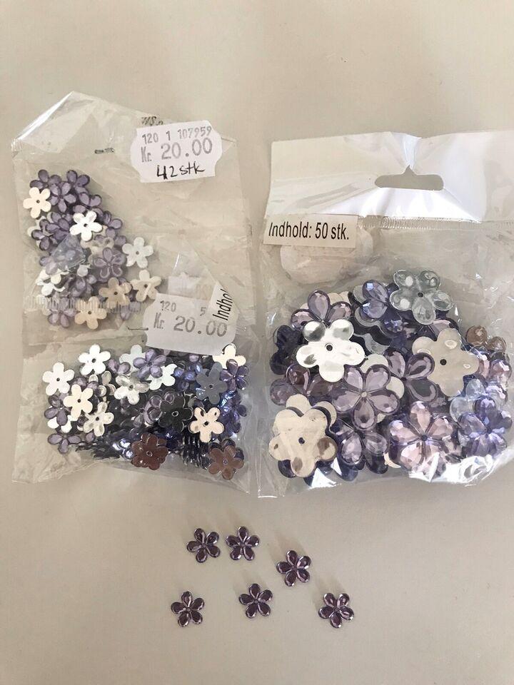 Blandede hobbyartikler, Lilla blomster
