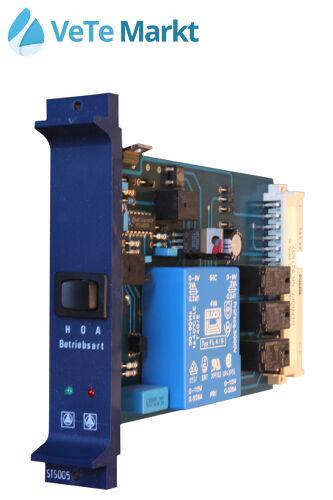 Buderus Modul STS005, Pumpenkarte, Schaltschrank, Ecomatic 3000 Regelung