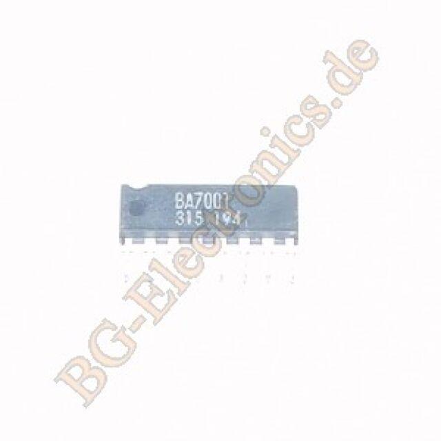 1 x BA7001 Single SPDT Analog Switch Rohm SIP-8 1pcs