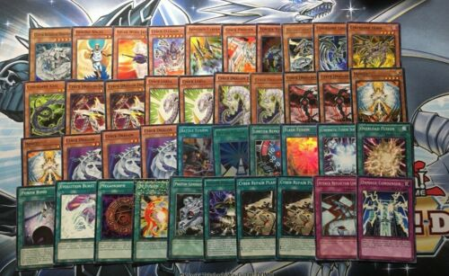 ZANE TRUESDALE CYBER DRAGON DECK BARRIER END TWIN INFINITY CYBERDARK YUGIOH