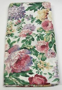09509c62b 1) Shower Curtain Panel   2 Tiebacks ~ Floral Escapade ~ 72