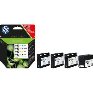 Conjunto-de-4-Genuino-HP-932XL-933XL-tintas-OfficeJet-6100-6600-6700-7610-7612-C2P42AE