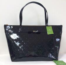 NWT Kate Spade Women's Camellia Street Sophie Black Polka Dot Tote Handbag New