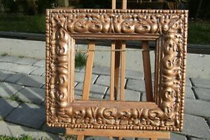 ITALIAN-FRENCH-PROVENCE-ROCOCO-GILDED-FRAME-FOR-PAINTING