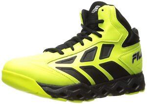 e8d5c64981c4 Fila Men s Torranado Basketball Shoe Safety Yellow Black Metallic ...