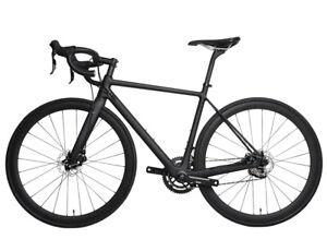 58cm-Carbon-bicycle-Disc-brake-Complete-road-bike-Race-Frame-Wheel-Alloy-700C