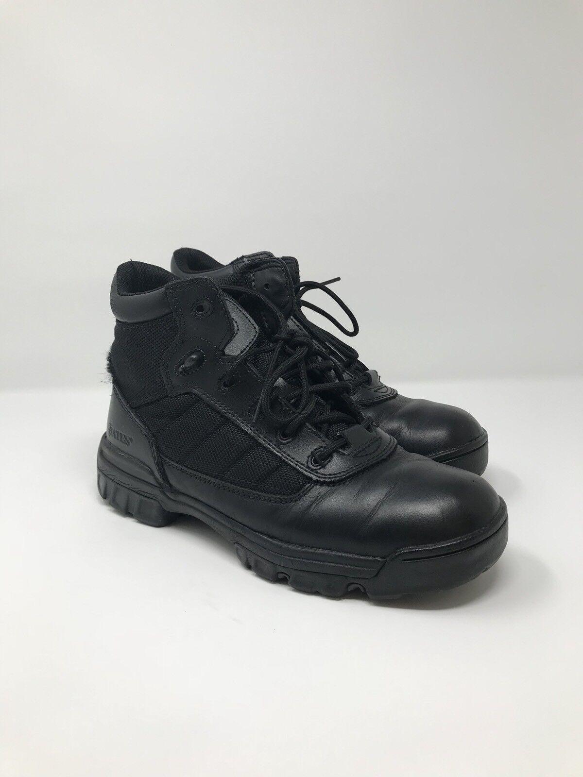 Bates E02762 Enforcer 5  Tactical Police Sport SWAT Ankle Boots Women's US 6.5M