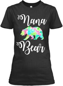 Nana-Bear-Apparel-Gildan-Women-039-s-Tee-T-Shirt