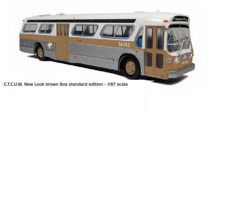 STM (Montreal) nuevo aspecto Pecera Bus 1 87 Rapido 701073 esquema estándar