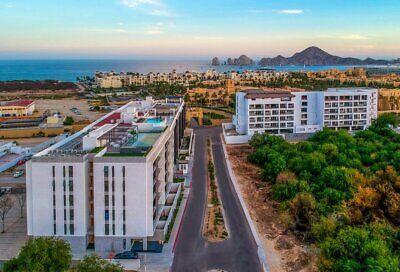 Condominios Amaterra a pasos de playa en Cabo San Lucas para rentas vacacionales