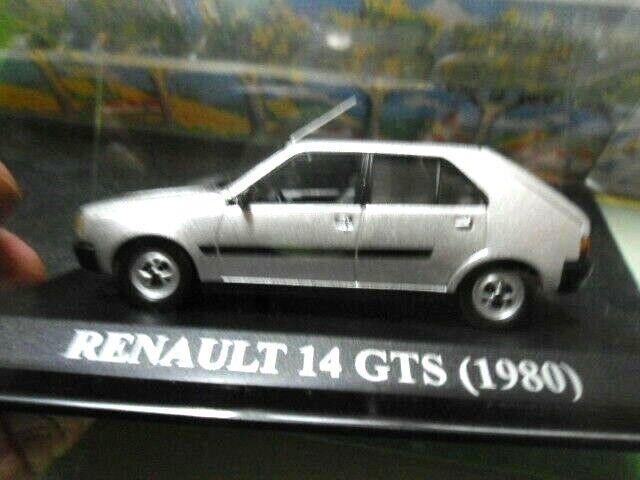 RENAULT 14 GTS 1980 IXO-ALTAYA 1 43 BOITE VITRINE