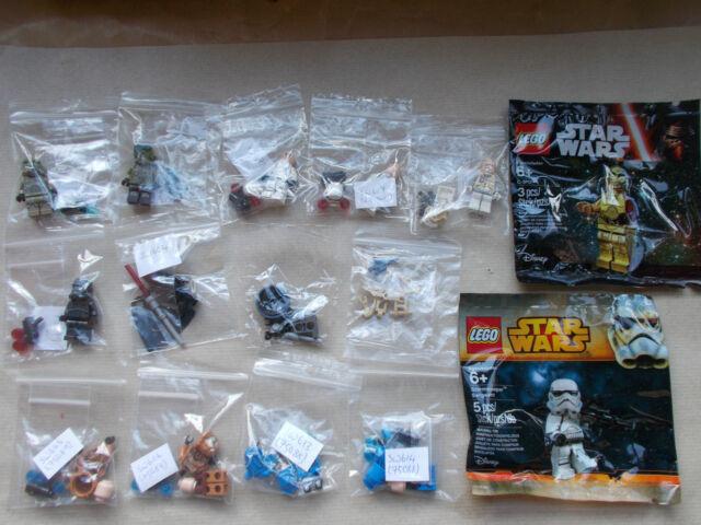 NEW LEGO STAR WARS MINIFIGURES - EP 1 2 3 4 5 6 REBELS EMPIRE CLONES DROID.LOT 2