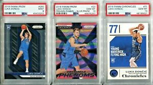 Absolute-Mystery-Pack-Patch-Auto-Cards-Luka-Doncic-Silver-Prizm-Rookie-PSA-10