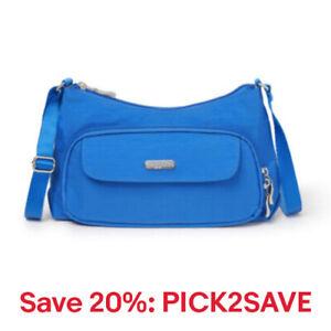 baggallini Women's Everyday Crossbody Shoulder Bag, Nylon, 20% off: PICK2SAVE