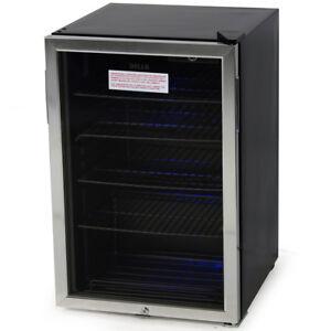 beverage mini refrigerator wine soda beer water drinks bar cooler fridge stand ebay. Black Bedroom Furniture Sets. Home Design Ideas
