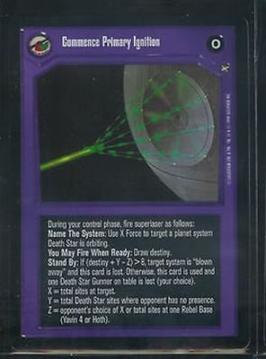 Star Wars CCG Reflections I VRF Very Rare Foil Commence Primary Ignition