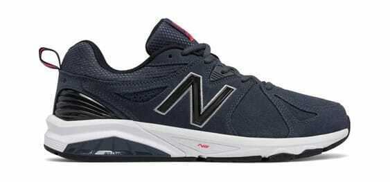 New Balance Men's 857v2 Training shoes Charcoal Charcoal (Suede)