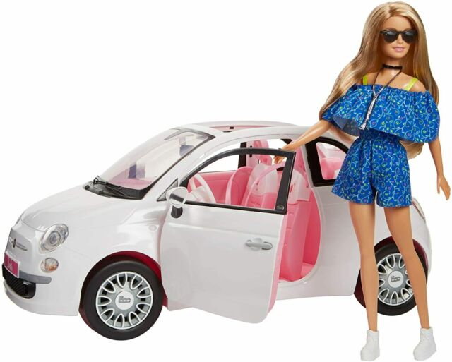Barbie Fiat Car and Doll Exclusive - Brand New & Sealed