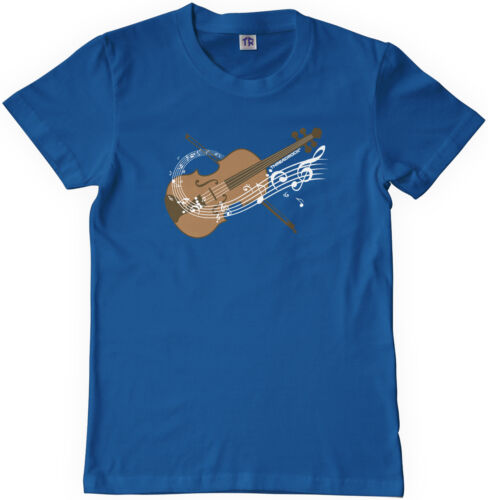Threadrock Kids Violin Youth T-shirt Fiddle String Instrument Orchestra