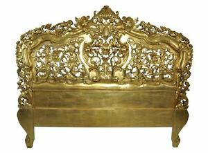 Sale-Bedhead-King-French-Provincial-Rococo-Gold-leaf-SRP-1700