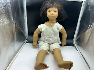 NEW 22 in to 32 in METAL WHITE COATED DOLL STAND 13.5in SHAFT ANNETTE HIMSTEDT
