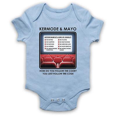 KERMODE /& MAYO WITTERTAINMENT CODE OF CONDUCT CINEMA BABY GROW BABYGROW GIFT