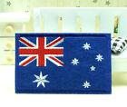 New Australian Australia Flag Embroidery Iron Sewn On Patch 8.7x5.5cm Special