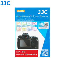 Canon 6D II 9 H protector de pantalla LCD de Vidrio Templado Duro Top /& atrás JJC GSP-6DM2