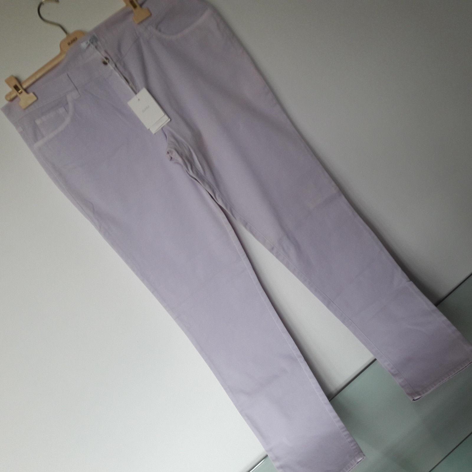 Pantalone GUNEX (Brunello Cucinelli) tg. 50 colore lilla pallido pallido pallido cotone NUOVO 46fe31