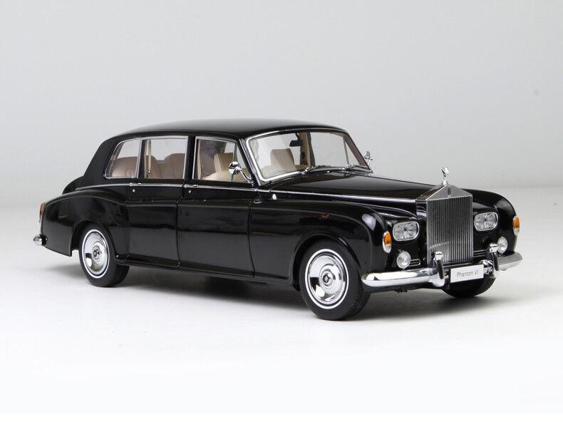 Tu satisfacción es nuestro objetivo Nuevo modelo modelo modelo de coche 1:18 Kyosho Rolls Royce Phantom VI Negro 08905BK  ¡envío gratis!