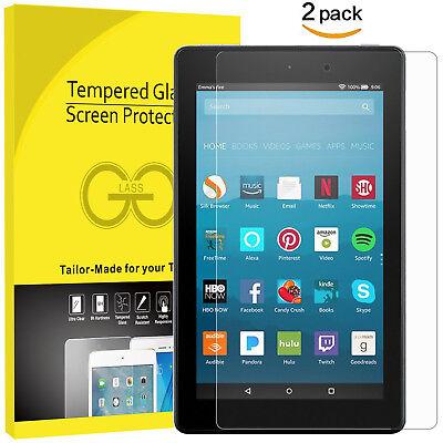 TEMPERED GORILLA GLASS SCREEN PROTECTOR Amazon Kindle Fire HD 8 8//7th Gen